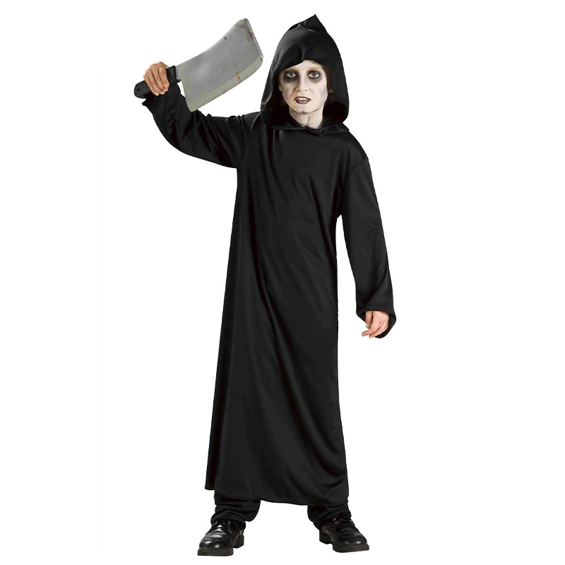 Disfraz Monje del Infierno Negro Infantil