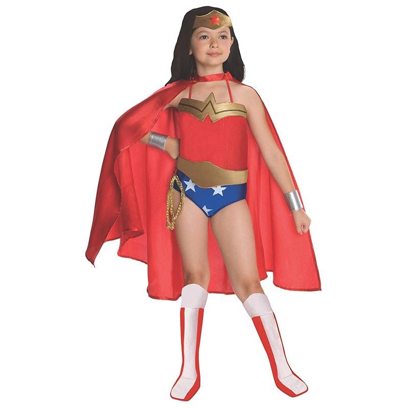 Disfraz Wonder Woman deluxe inf