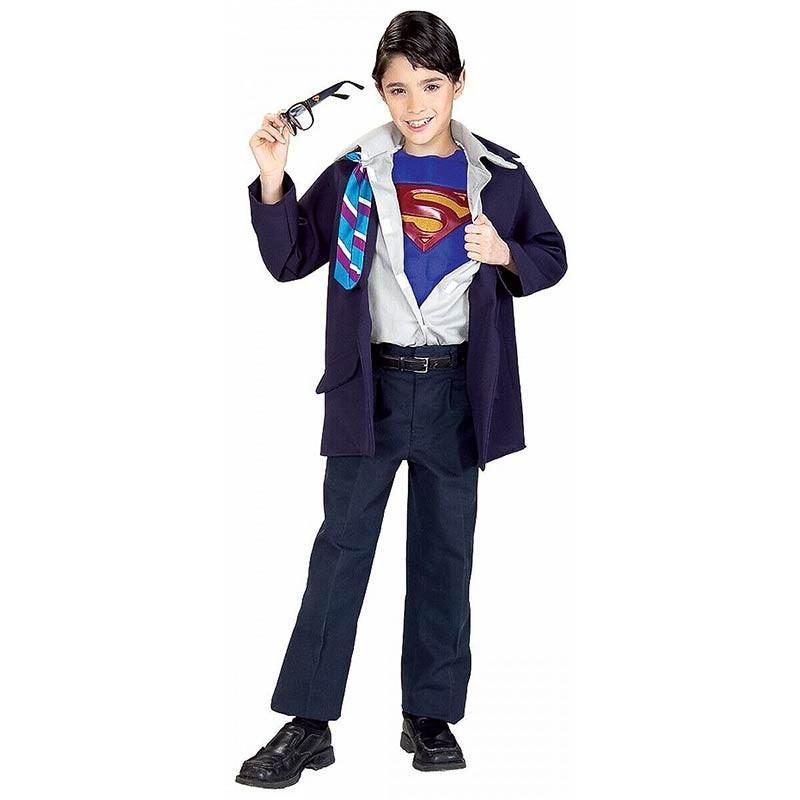 Disfraz Clark Kent Super-Hombre Reversible Inf