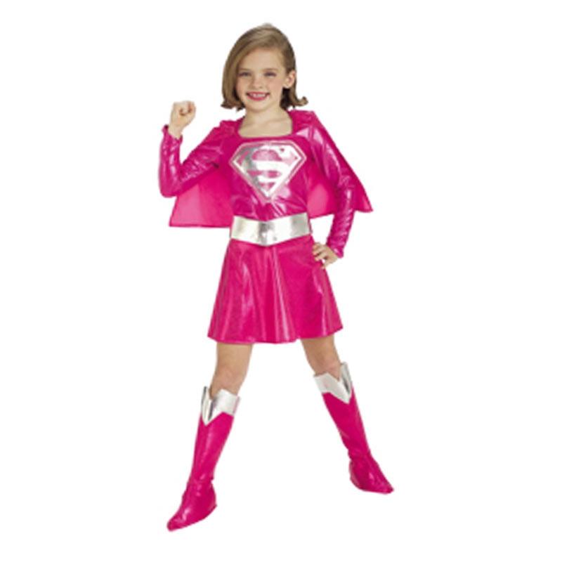 Disfraz Supergirl Rosa deluxe inf