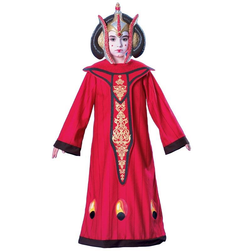 Disfraz Star wars Reina Amidala inf