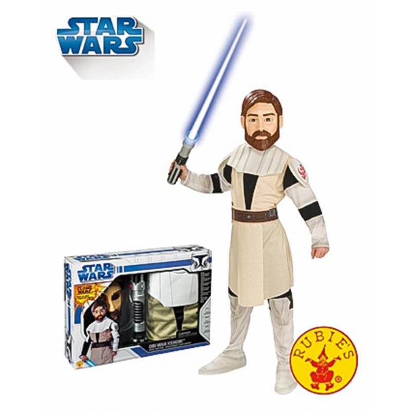Disfraz Star Wars Obi Wan con Espada Inf