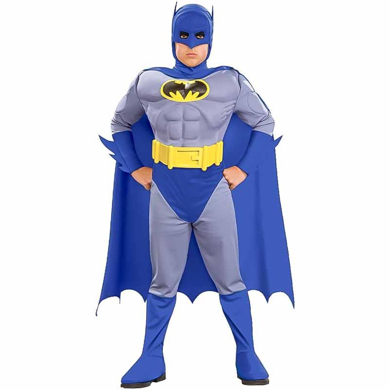 Disfraz Batman musculoso inf