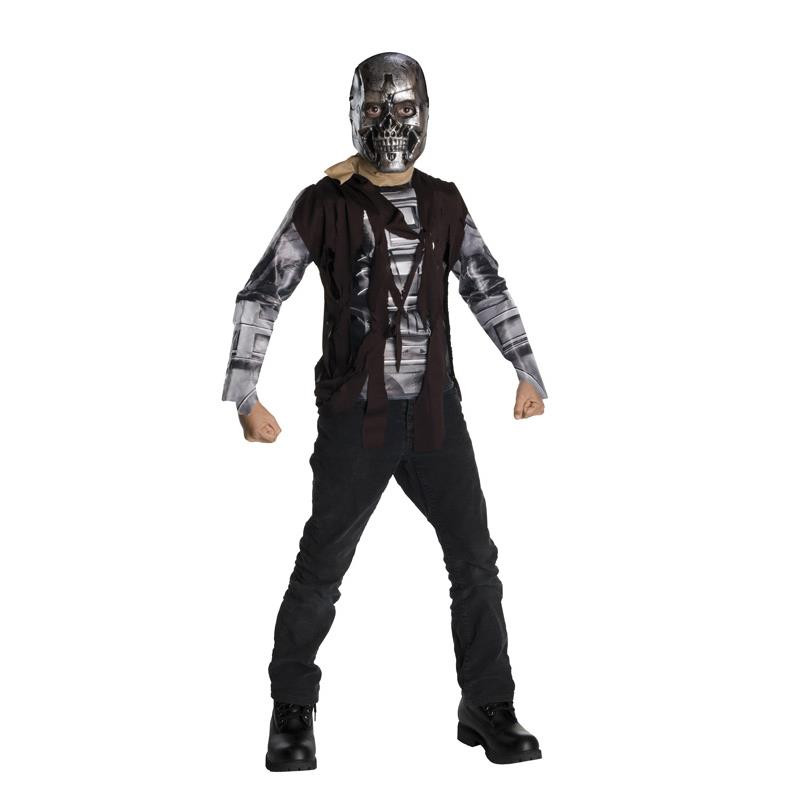 Terminator Disfraz T600 Infantil