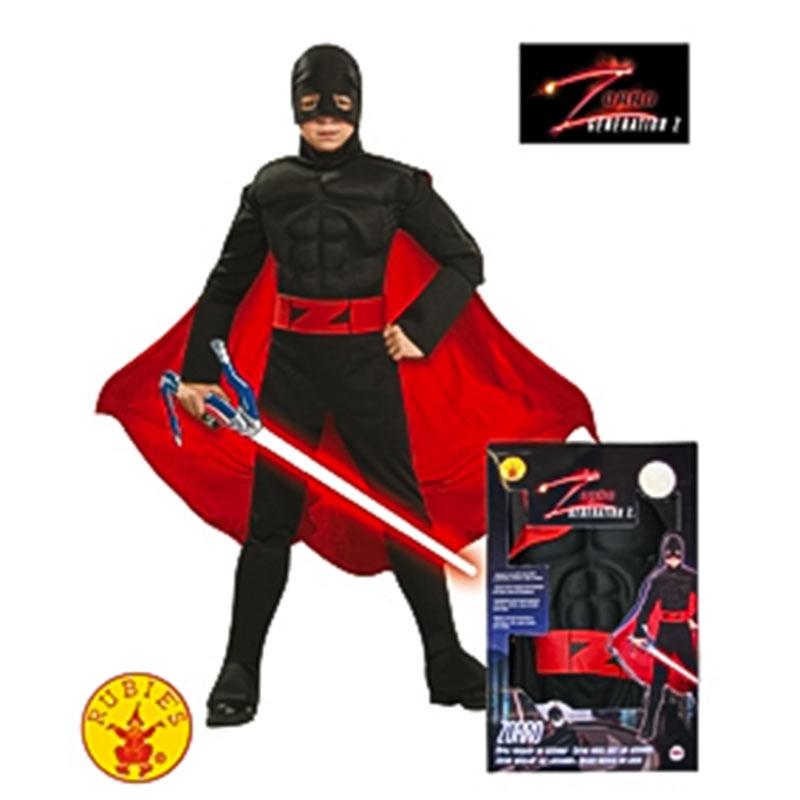 Disfraz Zorro musculoso generacion Z inf