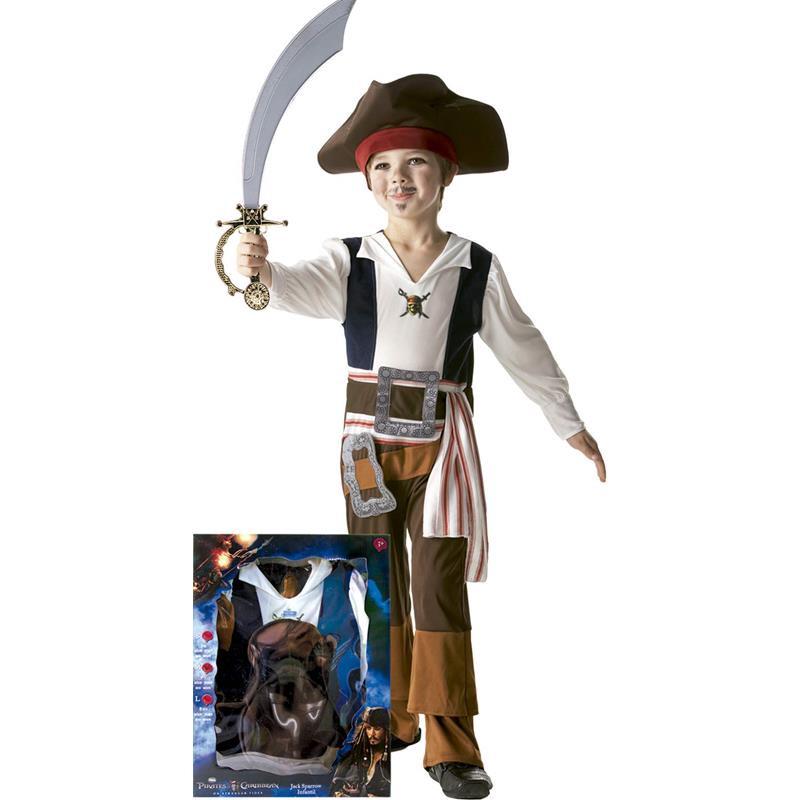 Disfraz pirata Jack Sparrow Infantil