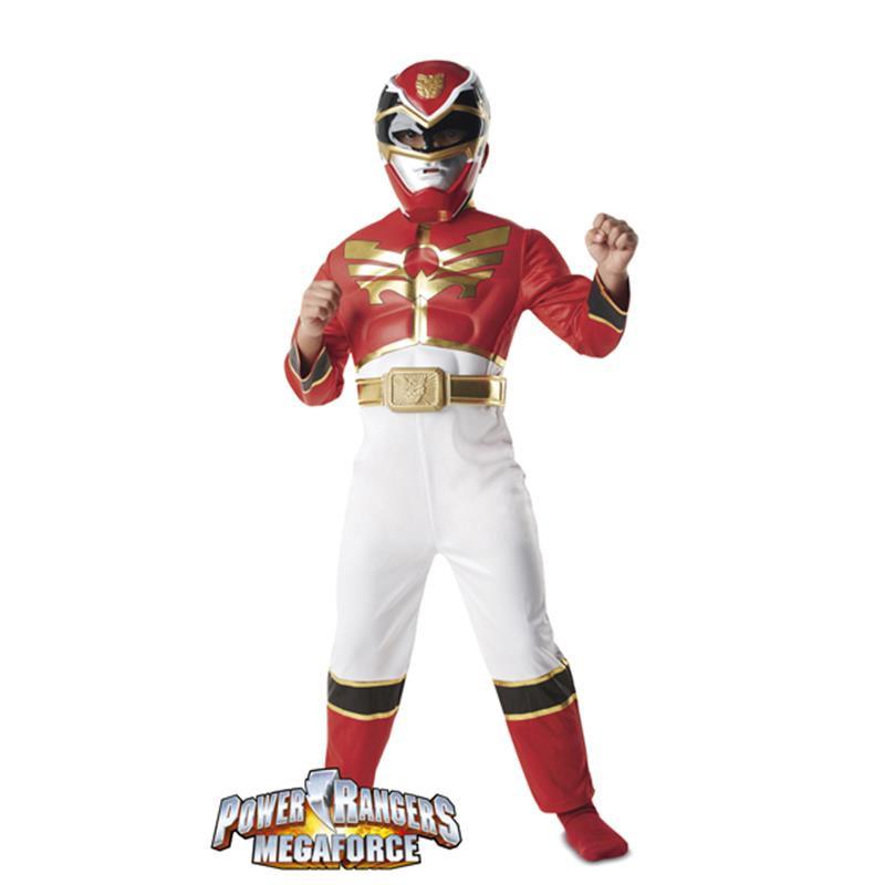 Disfraz Power Ranger con músculos Infantil