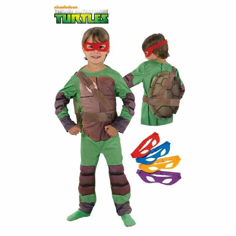 Disfraz Tortugas Ninja deluxe infantil