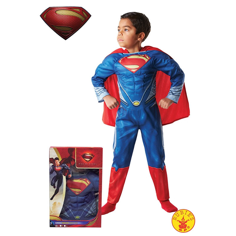 Disfraz Superman musculoso cx inf