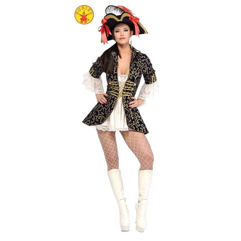 Disfraz Reina pirata adulta