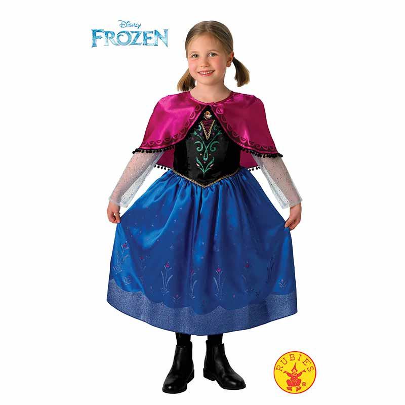 Disfraz Anna Frozen deluxe inf