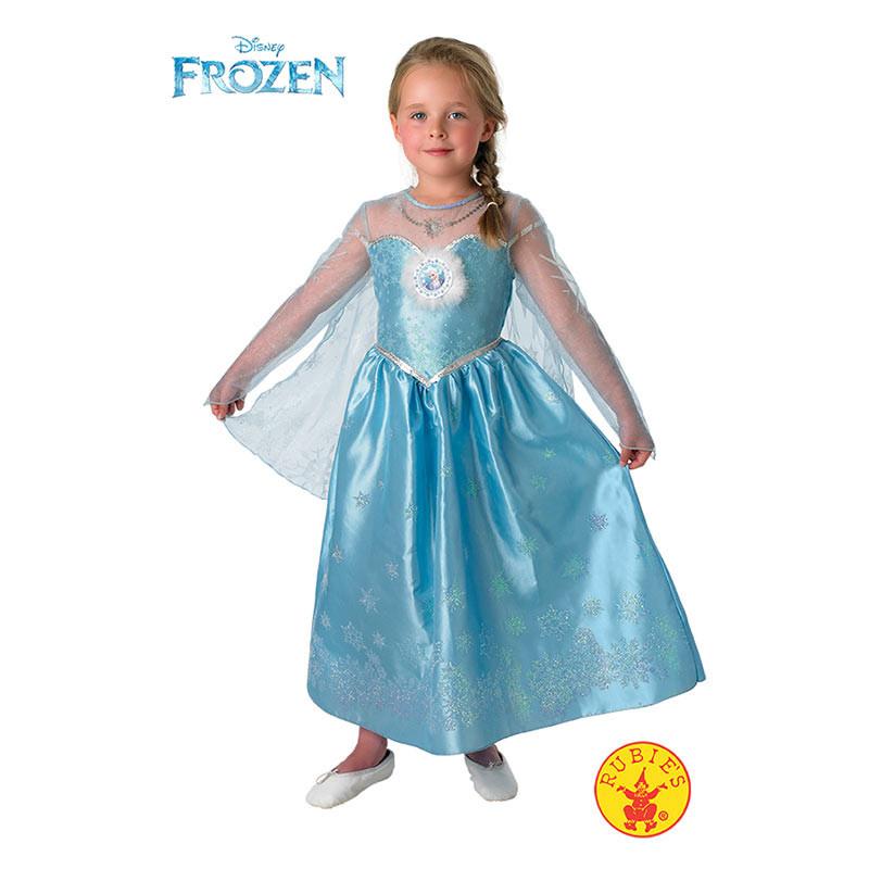 Disfraz Elsa Frozen deluxe inf