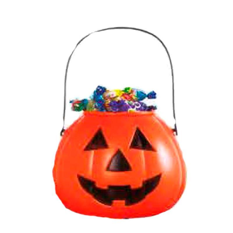 Calabaza porta caramelos Halloween