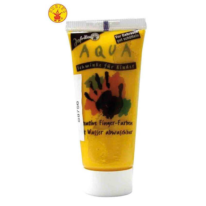 Maquillaje al água en tubo Amarillo