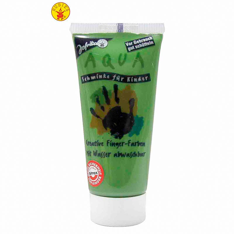 Maquillaje al água en tubo verde