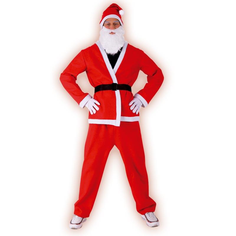 Disfraz Santa Claus adulto T/U