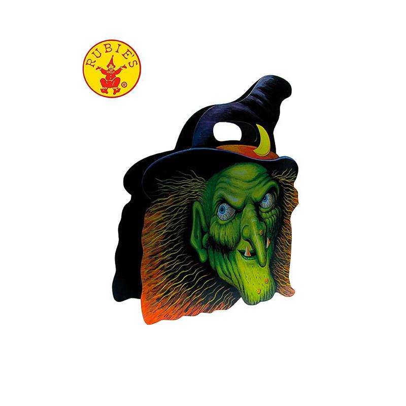 Bolsa Halloween para Chuches Calavera Bruja