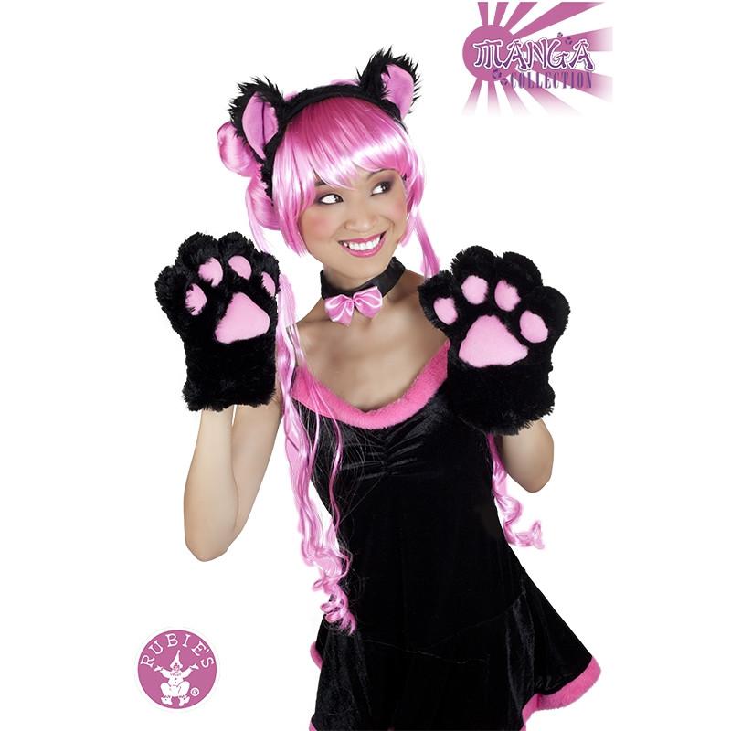 Accesorios para disfraz Kitty Manga