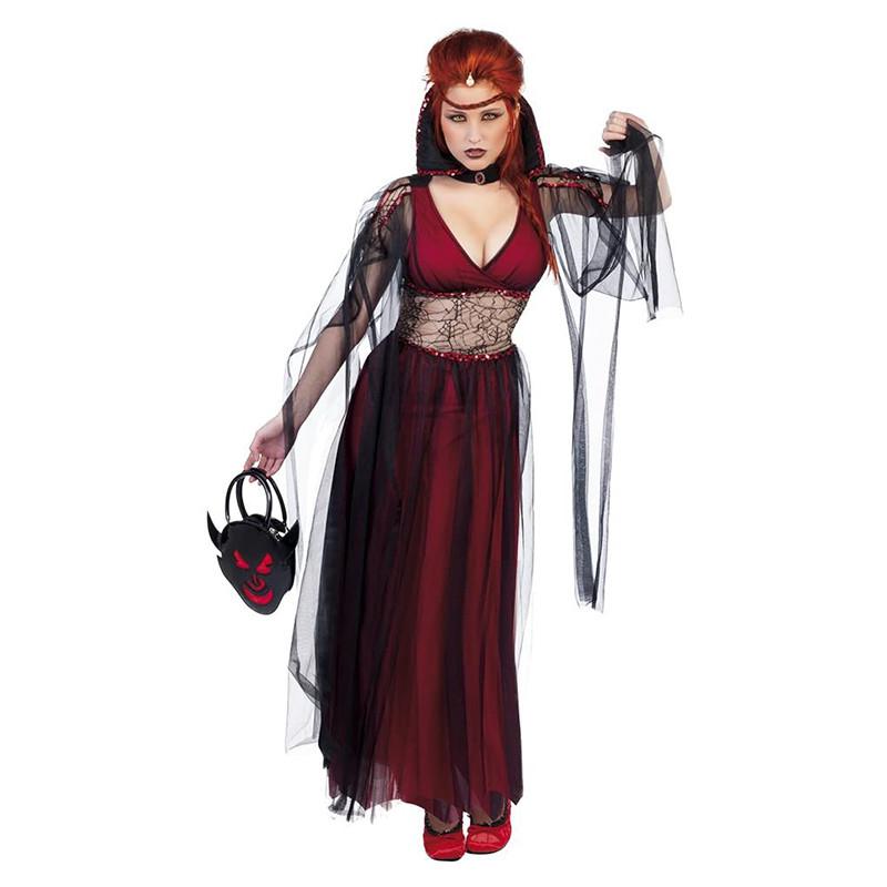 Disfraz novia de drácula adulto
