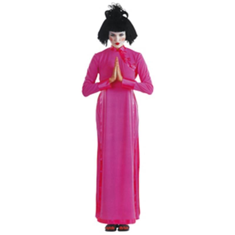 Disfraz Hanoi Pink adulto