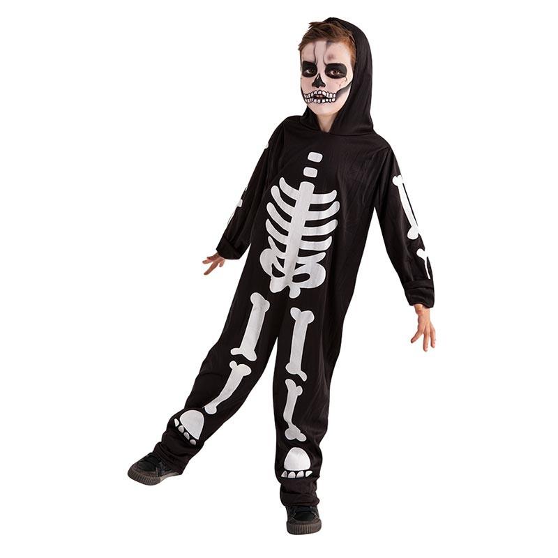Disfraz Skeleto Glow In Dark Inf