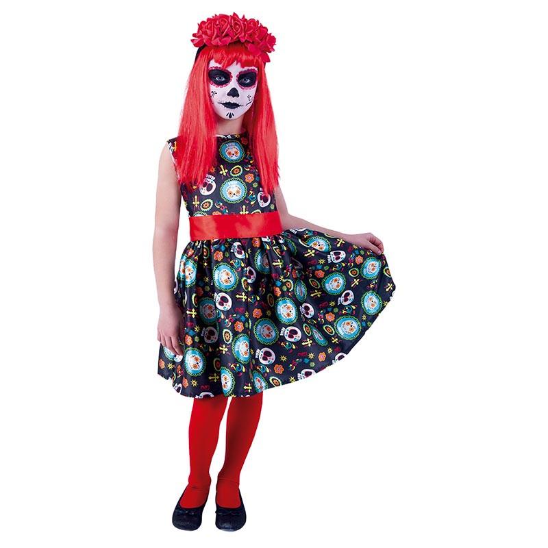 Disfraz Guadalupe Dia de Los Muertos Inf