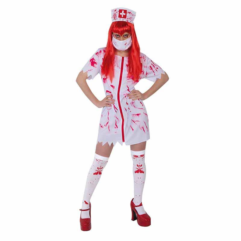 Disfraz enfermera sangrienta adulto