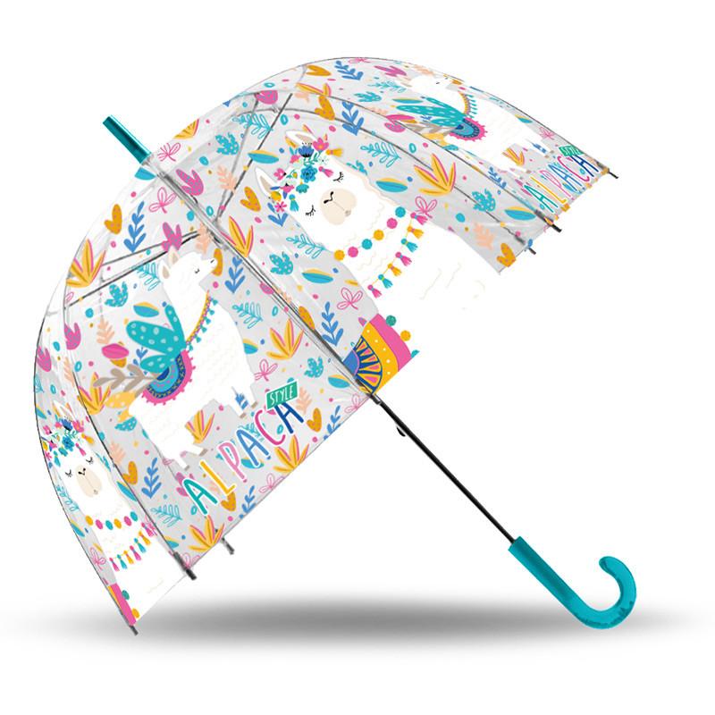 Paraguas transparente campana 48 cm