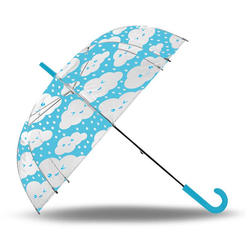 Paraguas transparente auto 52 cm