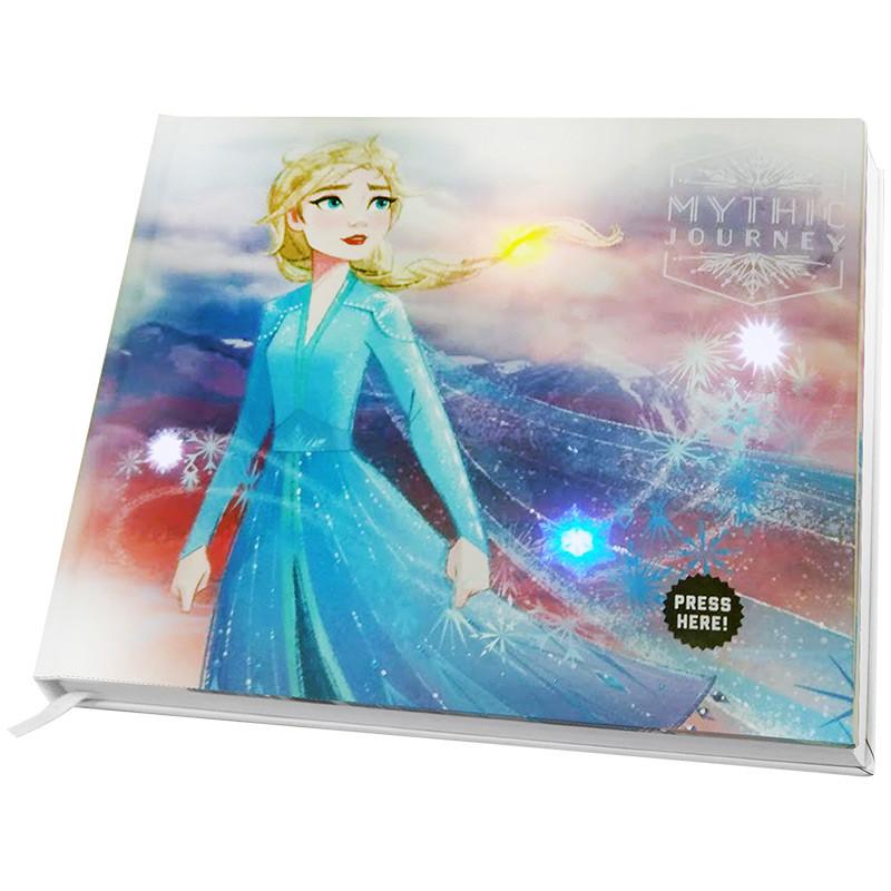 Notebook con luces y sonido Frozen II