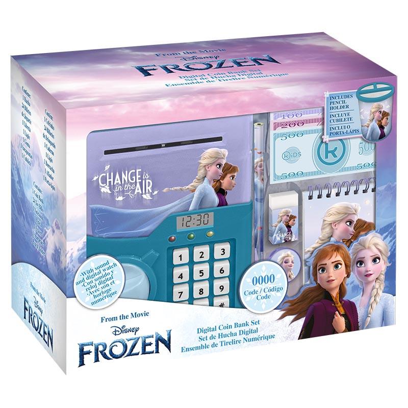 Hucha digital con reloj Frozen 2