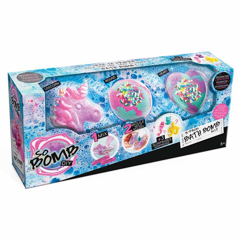 Kit Bombas de Baño 3 Paquetes