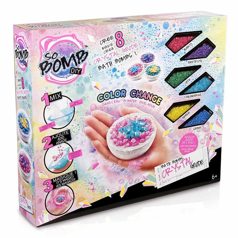 Bath Bomb Crystal Kit