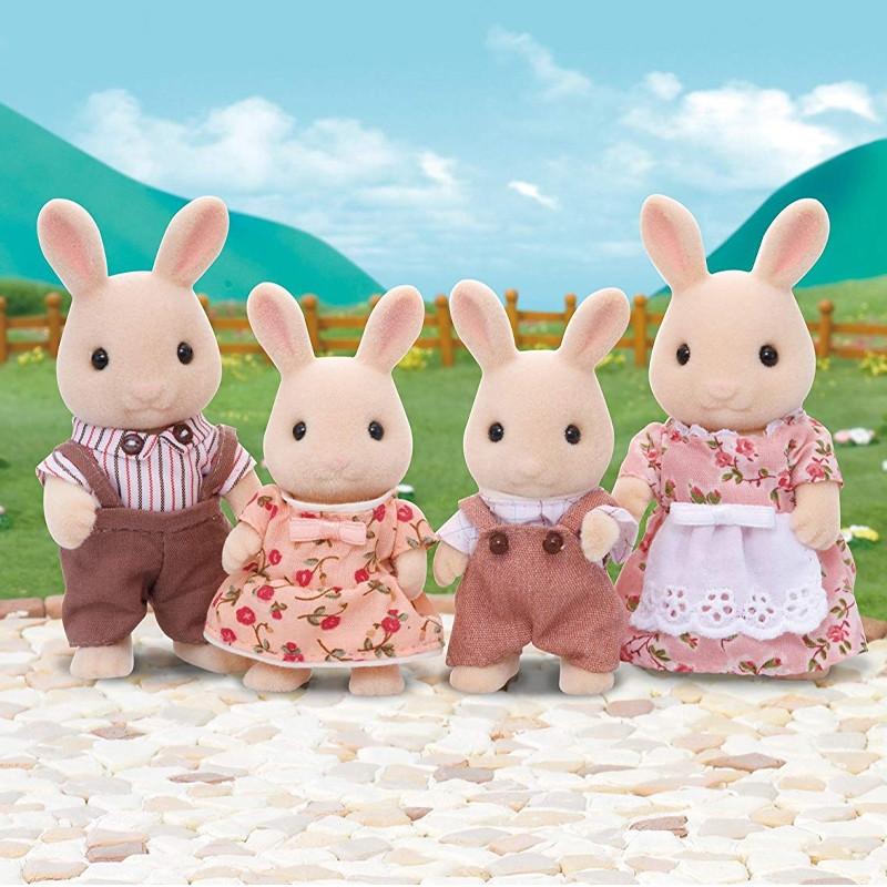 Sylvanian Families familia conejos blancos