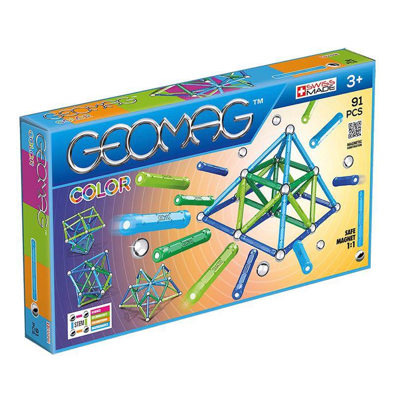 Geomag color 91 piezas