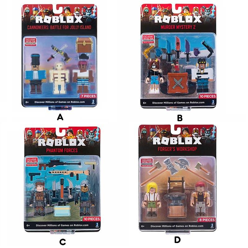 Roblox pack dos figuras y accesorios