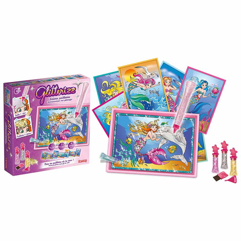 Gliterizz set sirenas