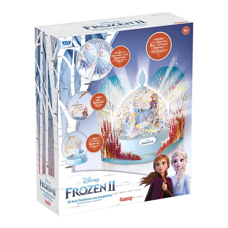 Frozen II bola de nieve con luz