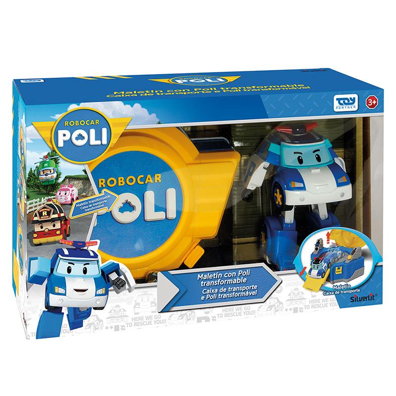 Carry Case & Transforming Poli