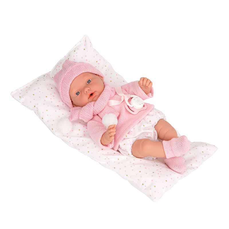 Elegance 28 cm Hanne rosa com cojín