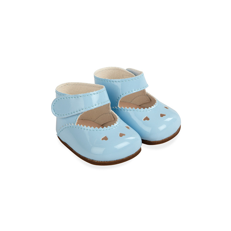 Zapatos azules reborns 45 cm