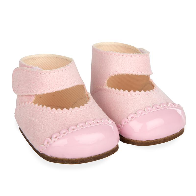 Zapatos rosa reborns 45 cm