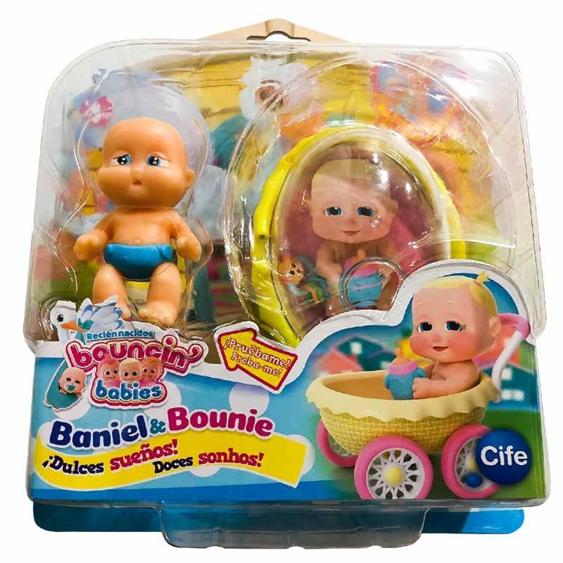 Bouncin Babies recién nacidos Dulces sueños Sky