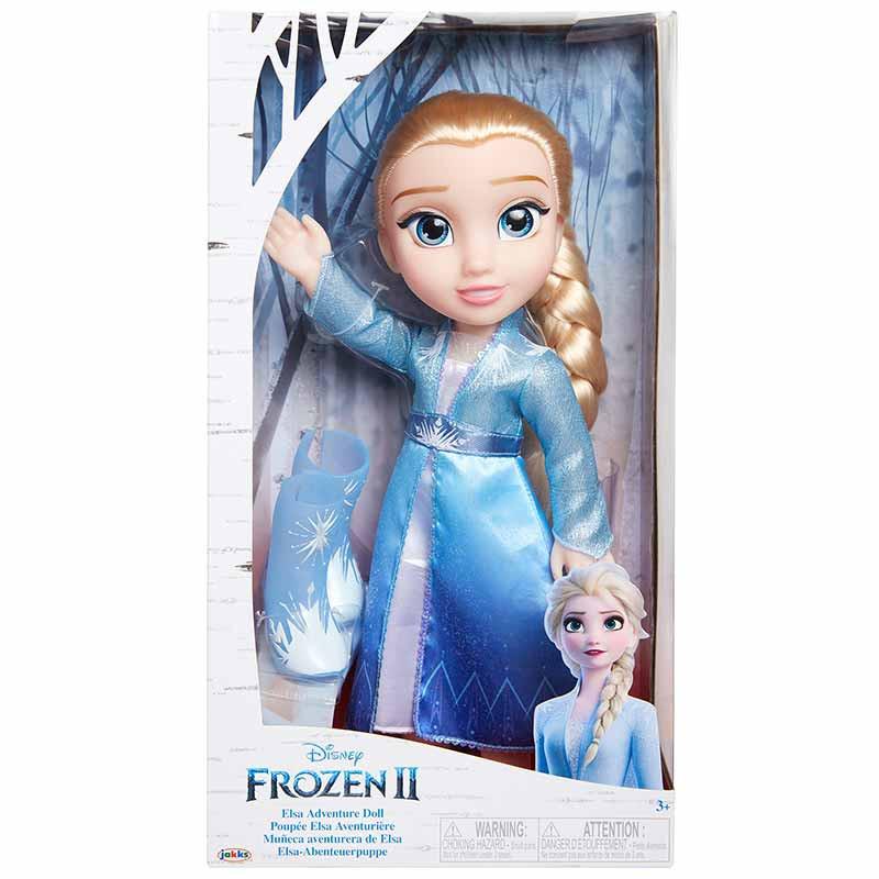 Frozen 2 Elsa vestido de viajes 35 cm