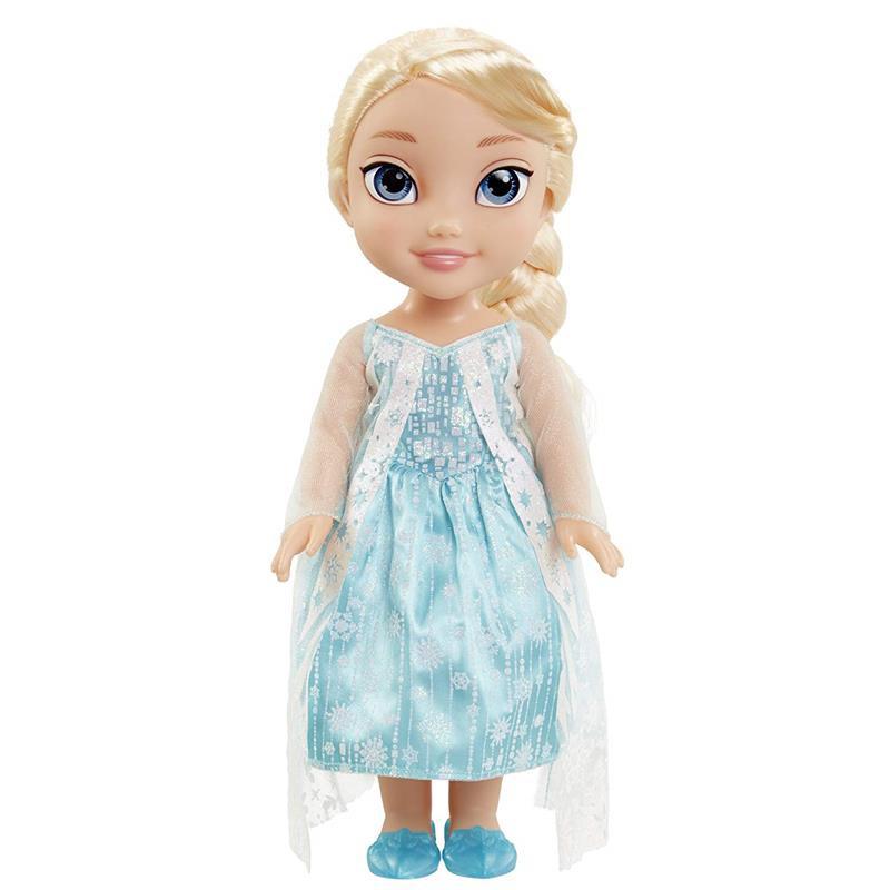Muñeca Frozen Elsa capa de glitter 35 cm