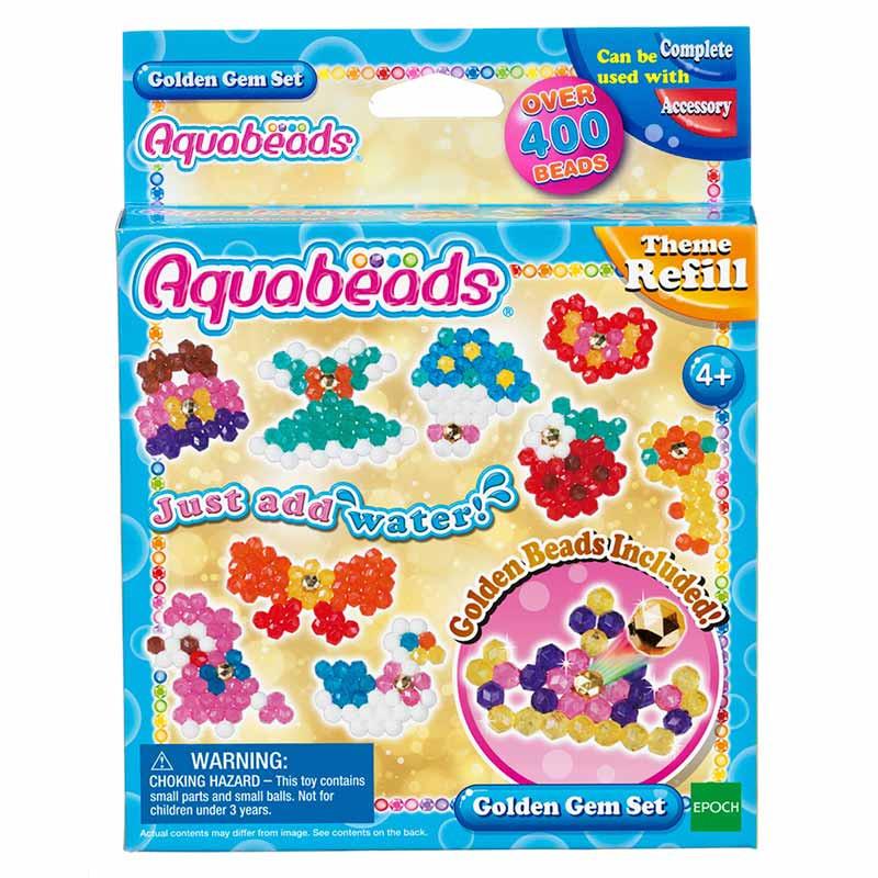 Aquabeads Set de Joyas Doradas