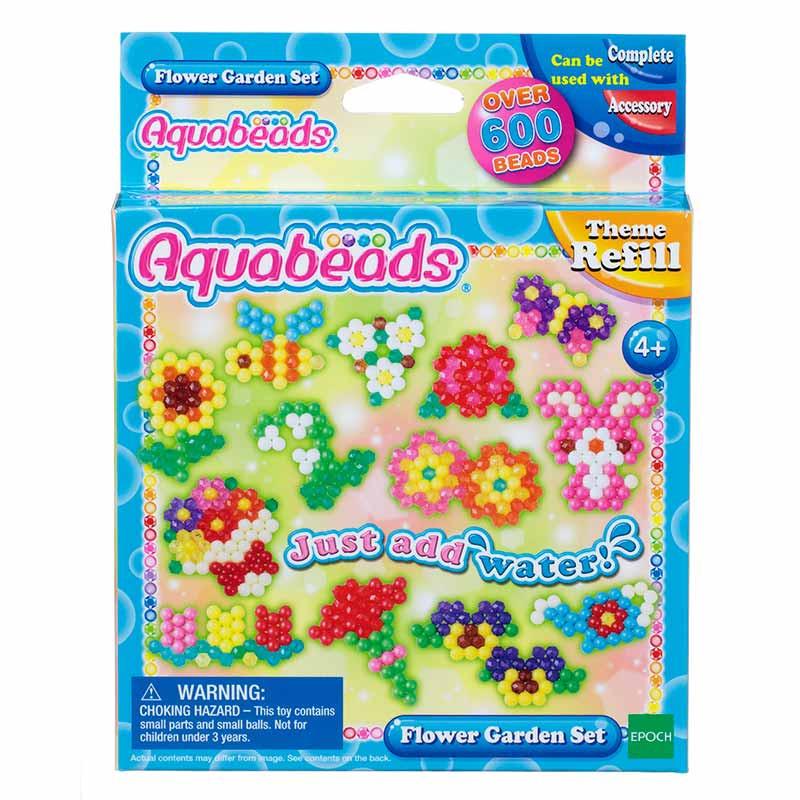 Aquabeads Set flores de Jardín