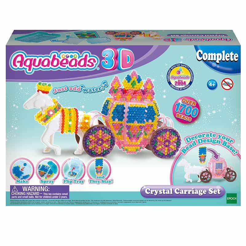 Aquabeads Set Carruaje de Cristal en 3D