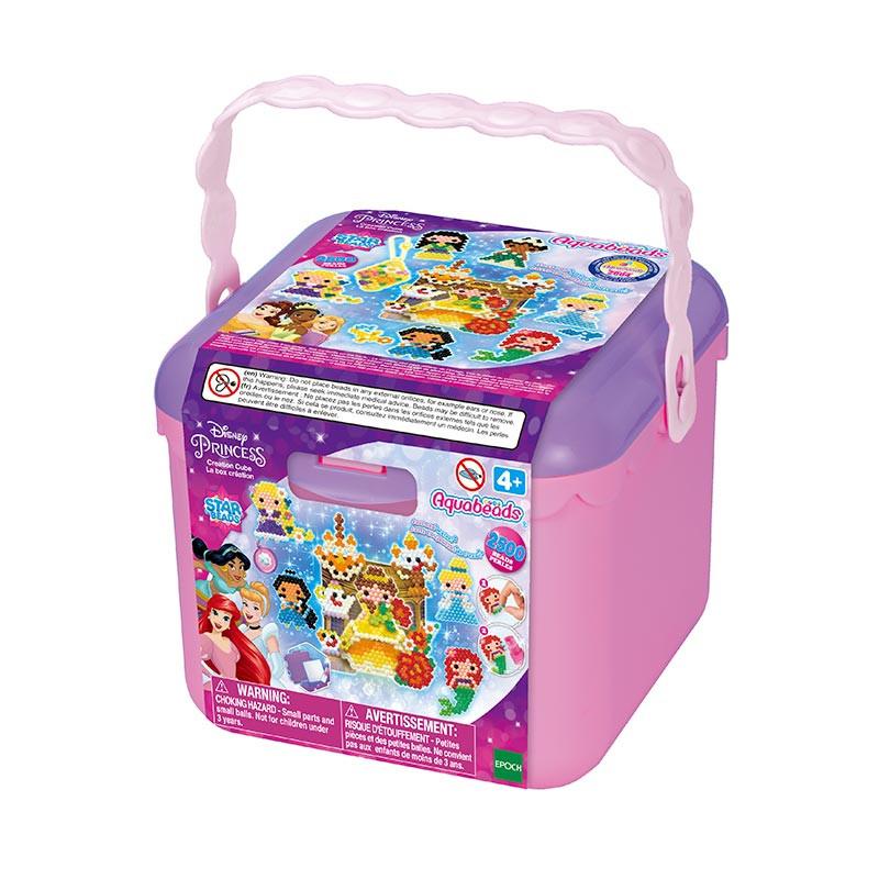 Aquabeads cubo de creatividad Princesas Disney