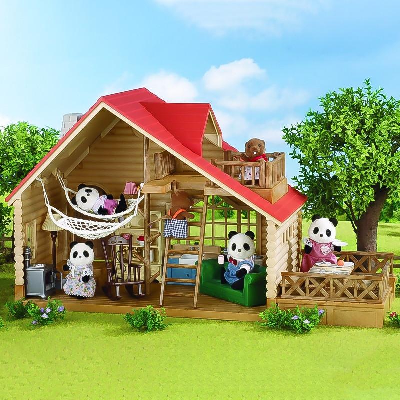 Sylvanian Families cabaña de madera